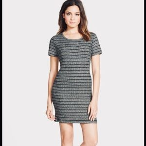 NWT Leith Black Gray Knit Dress Junior's Large